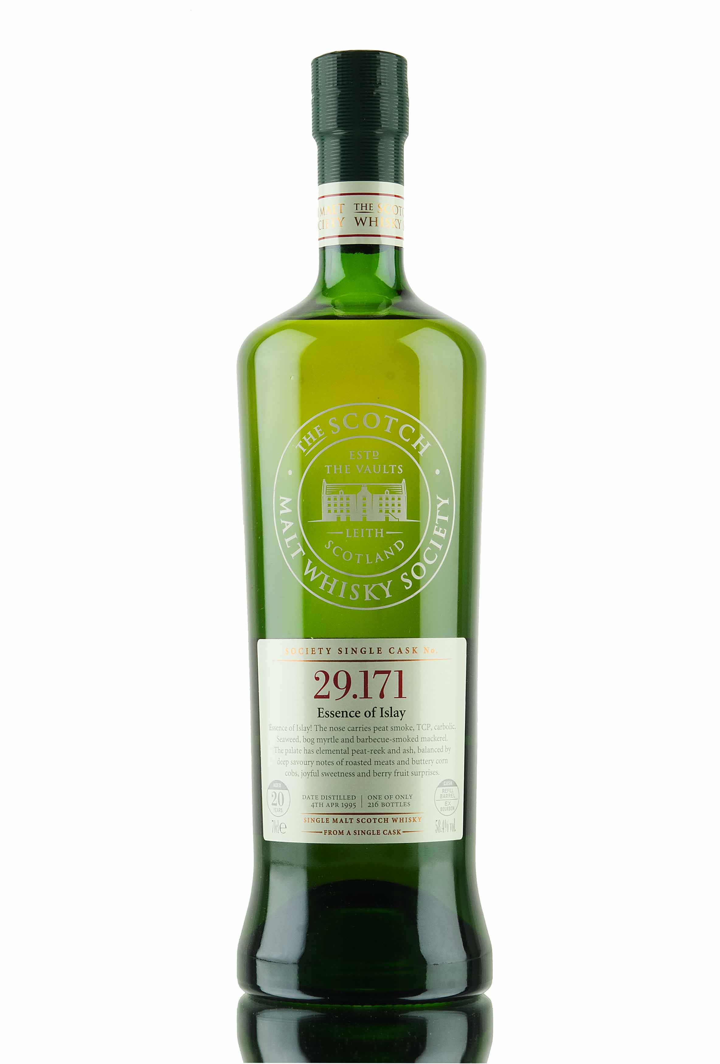 Laphroaig 20 Year Old - 1995 / SMWS 29.171