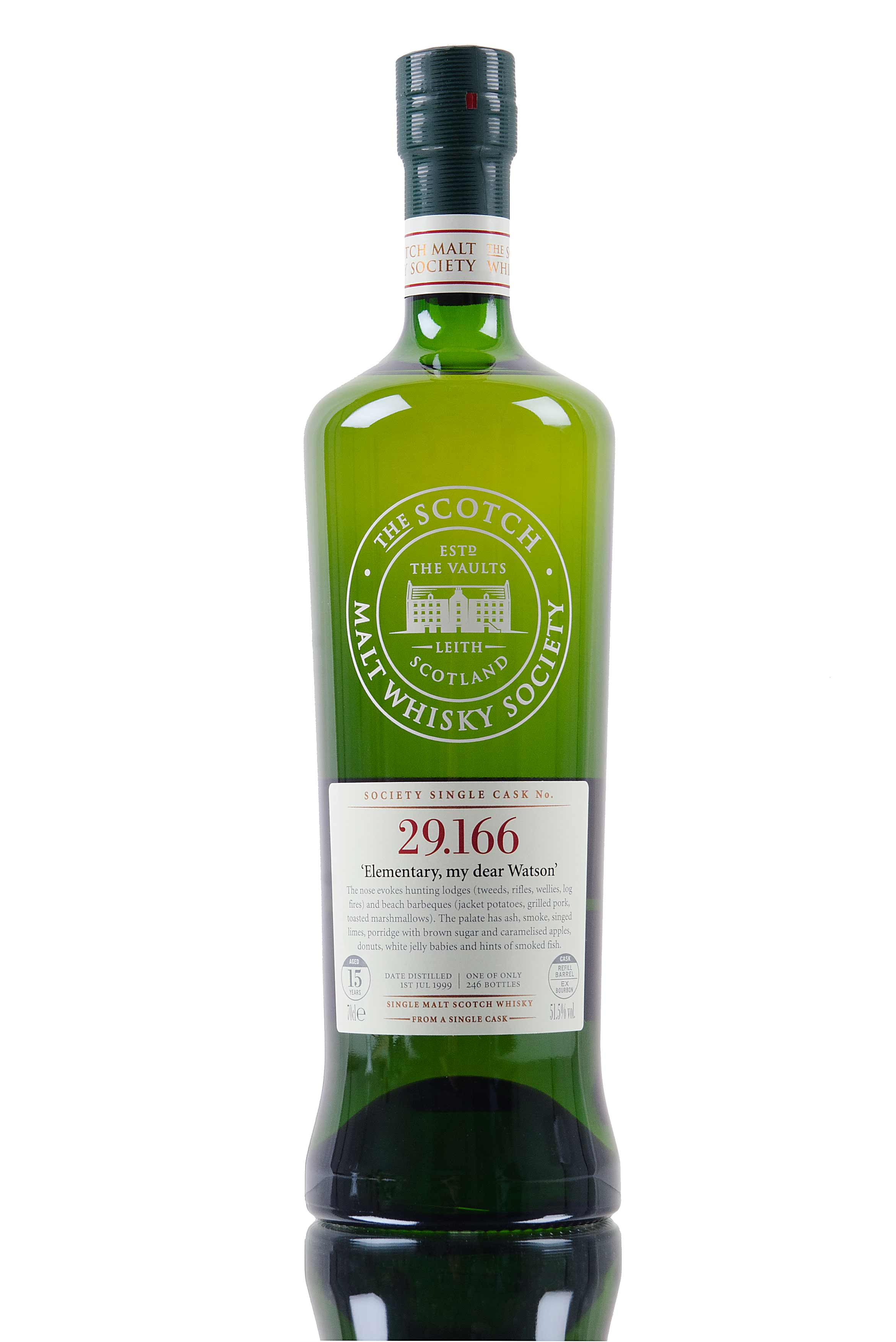 Laphroaig 1999 / 15 Year Old / SMWS 29.166