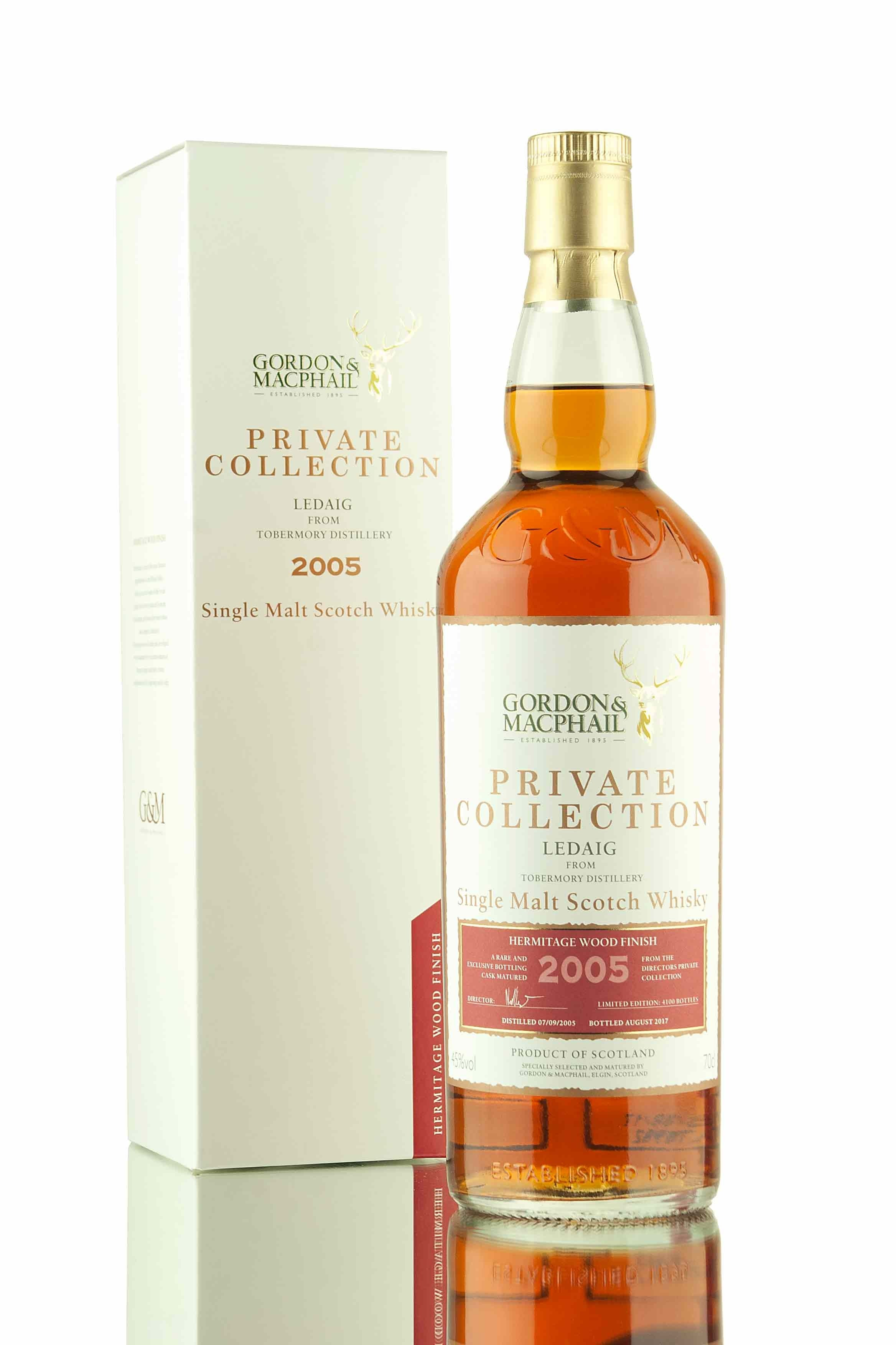 Ledaig 11 Year Old - 2005 | Hermitage - Private Collection