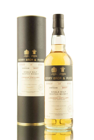 Linkwood 13 Year Old - 2007 | Cask 805409 | Berry Bros & Rudd | Abbey Whisky