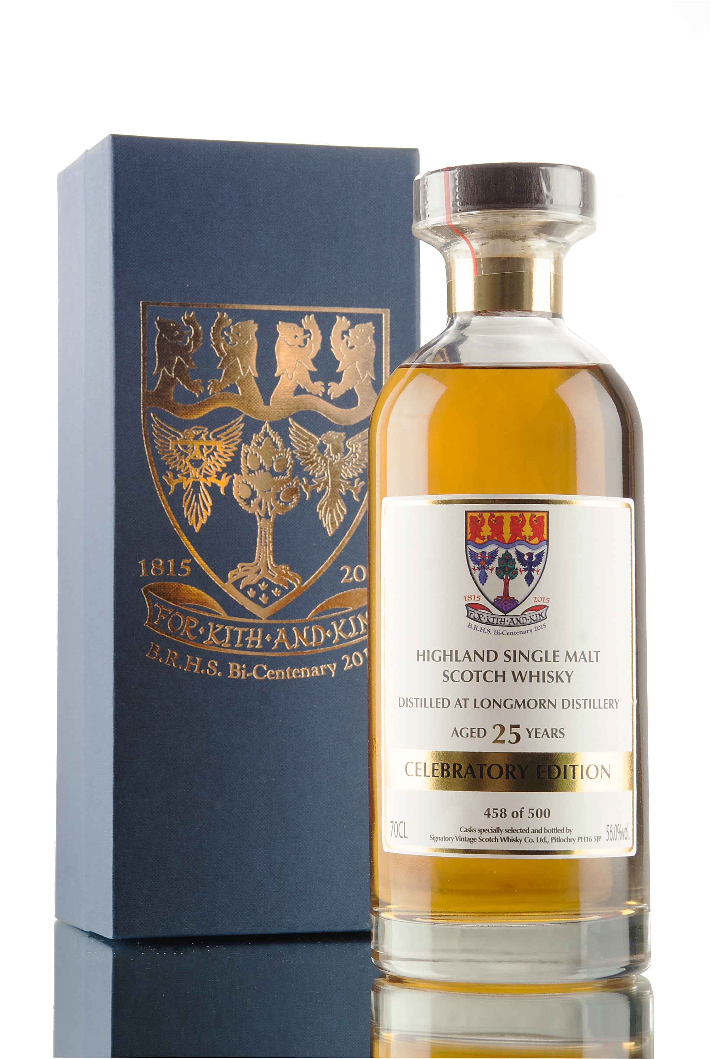 Longmorn 25 Year Old Celebratory Edition