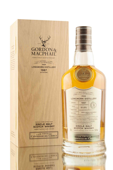 Longmorn 33 Year Old - 1987 | Cask 5725 | Connoisseurs Choice | Abbey Whisky