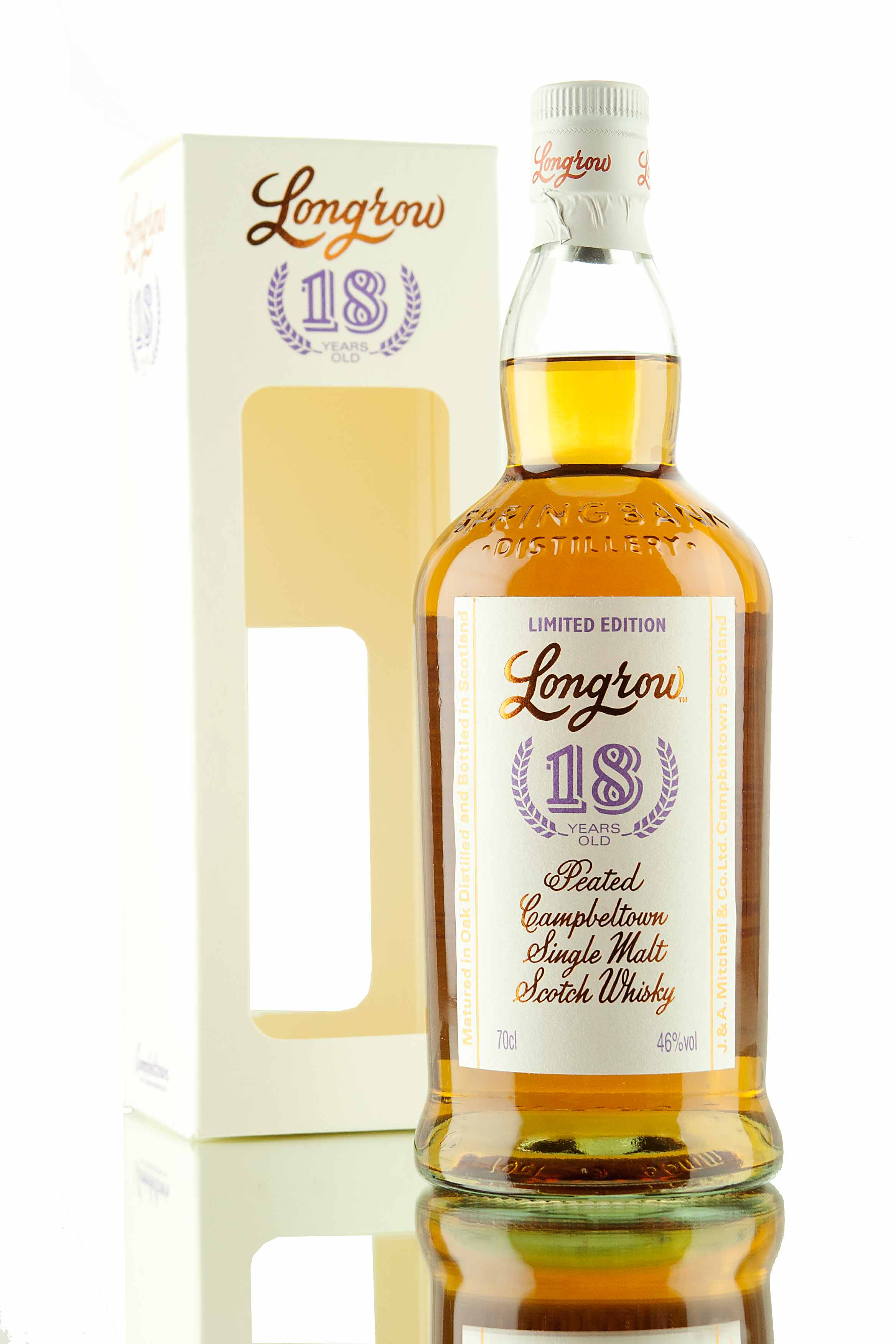 Longrow 18 Year Old - 2015 Release