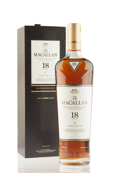 Macallan 18 Year Old Sherry Oak | 2020 Release | ABBEY WHISKY