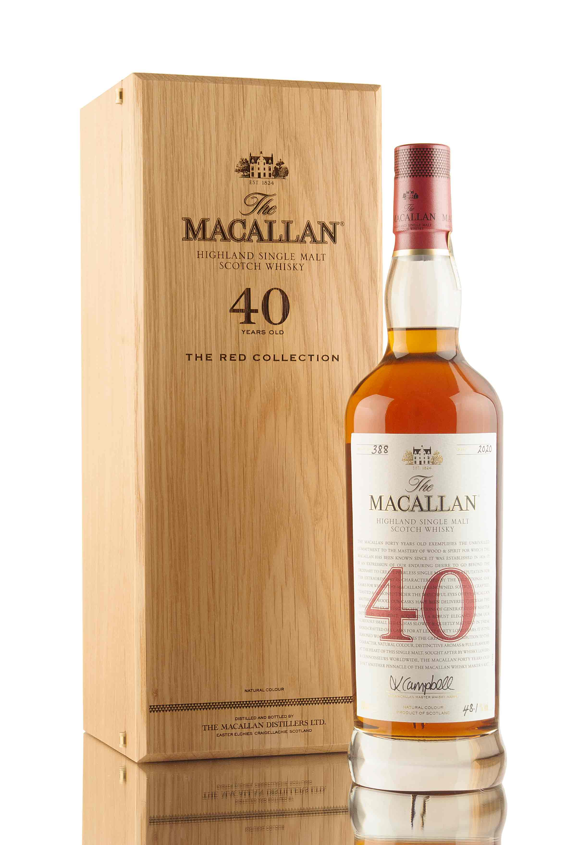 Macallan 40 Year Old - The Red Collection | Abbey Whisky