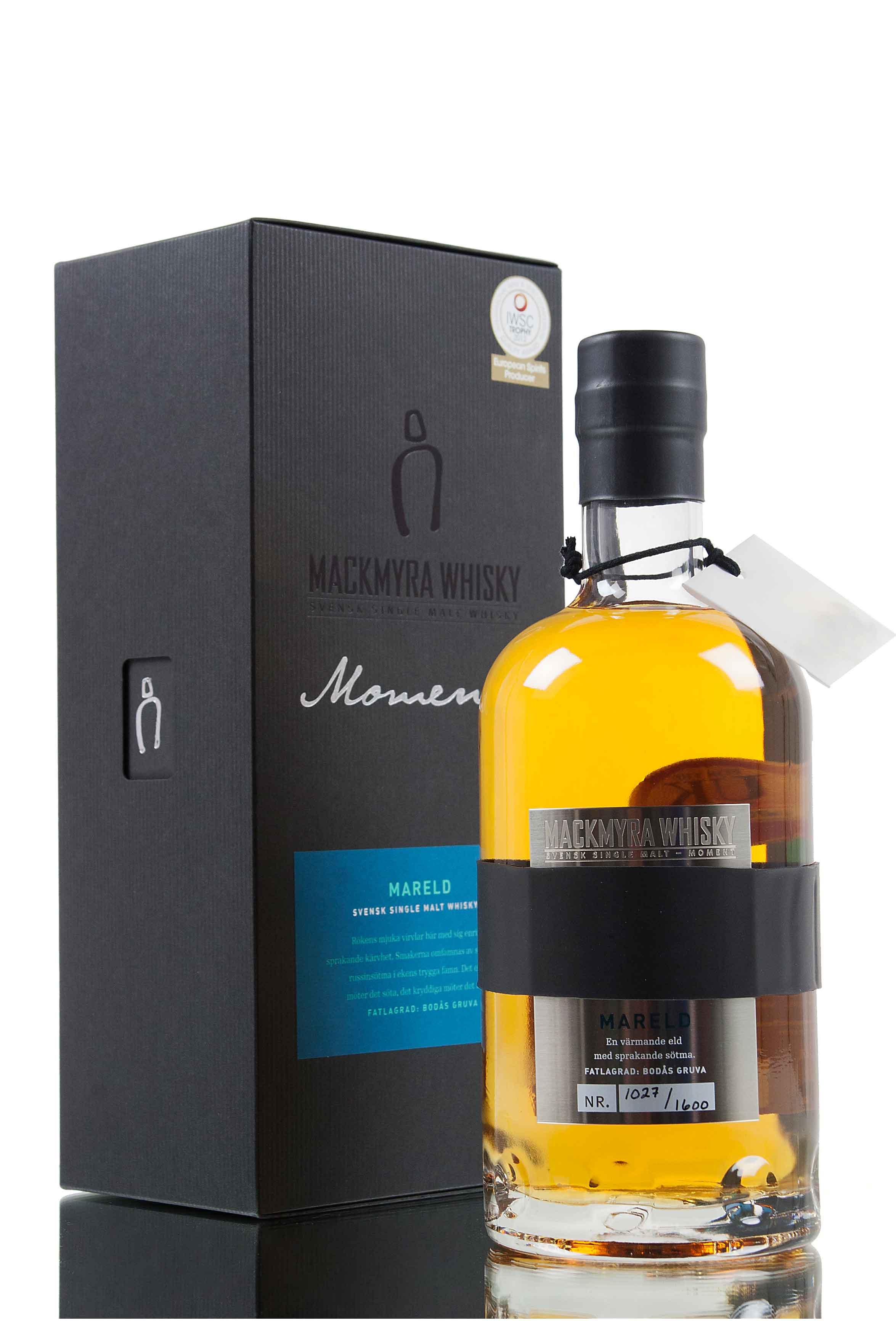 Mackmyra Mareld Moment Series 13 /  Swedish Whisky