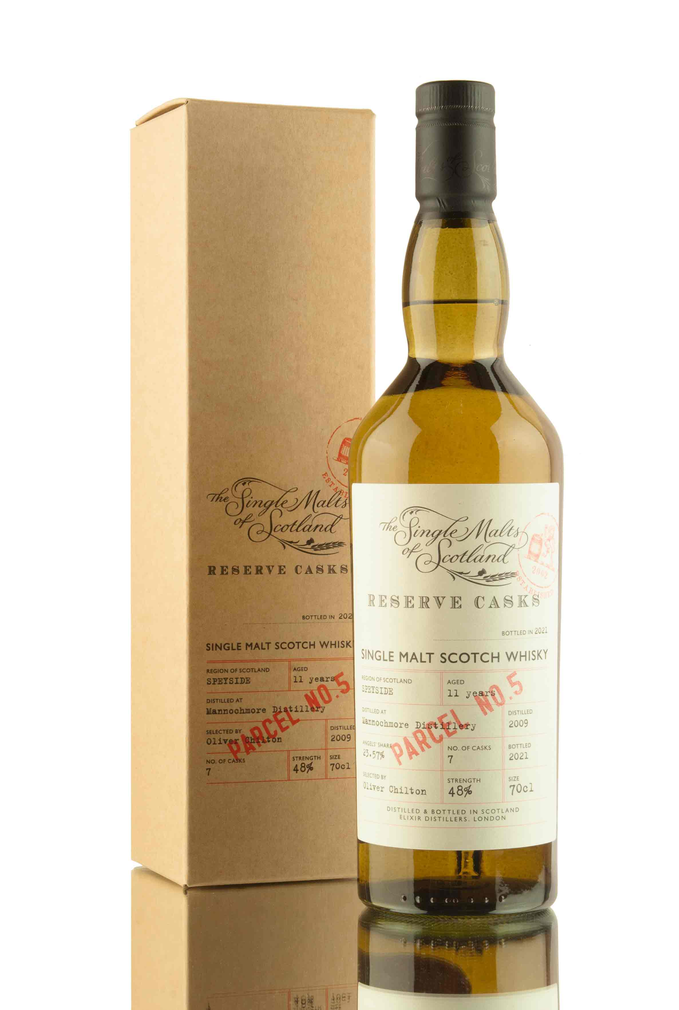 Mannochmore 11 Year Old - 2009 | Reserve Casks Parcel No.5 | Abbey Whisky