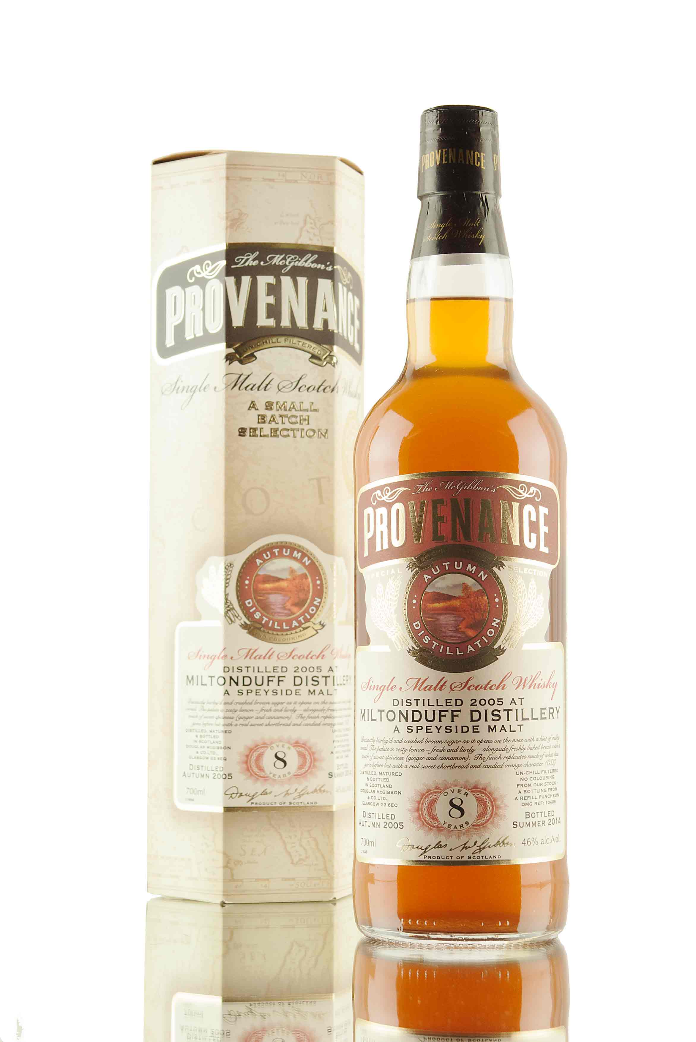 Miltonduff 8 Year Old - 2005 | Provenance Cask 10406