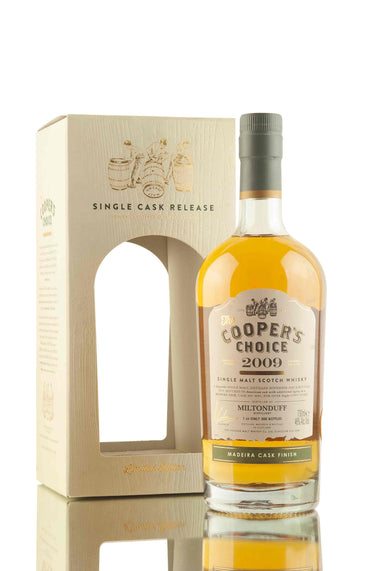 Miltonduff 8 Year Old - 2009 | Cask 9091 | The Cooper's Choice | Abbey Whisky