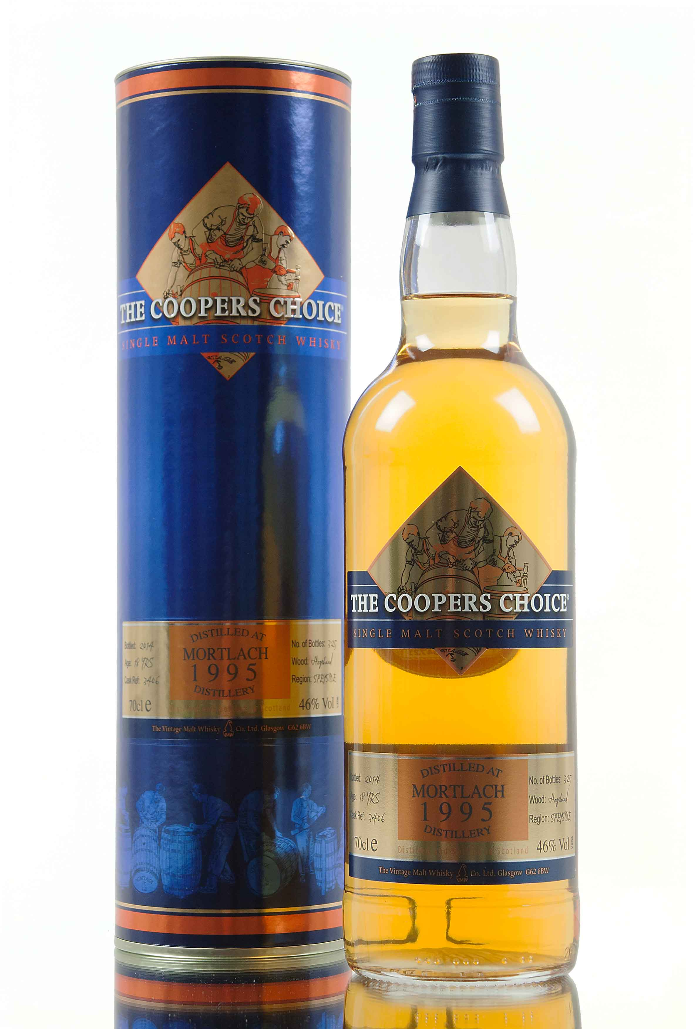 Mortlach 18 Year Old - 1995 / The Coopers Choice / Cask 3406