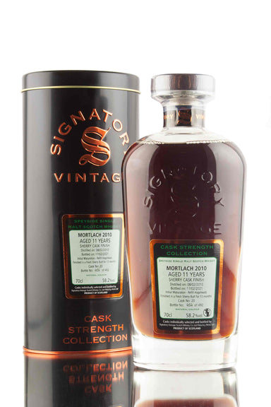 Mortlach 11 Year Old - 2010 | Cask 20 | Cask Strength Collection - Signatory | Abbey Whisky