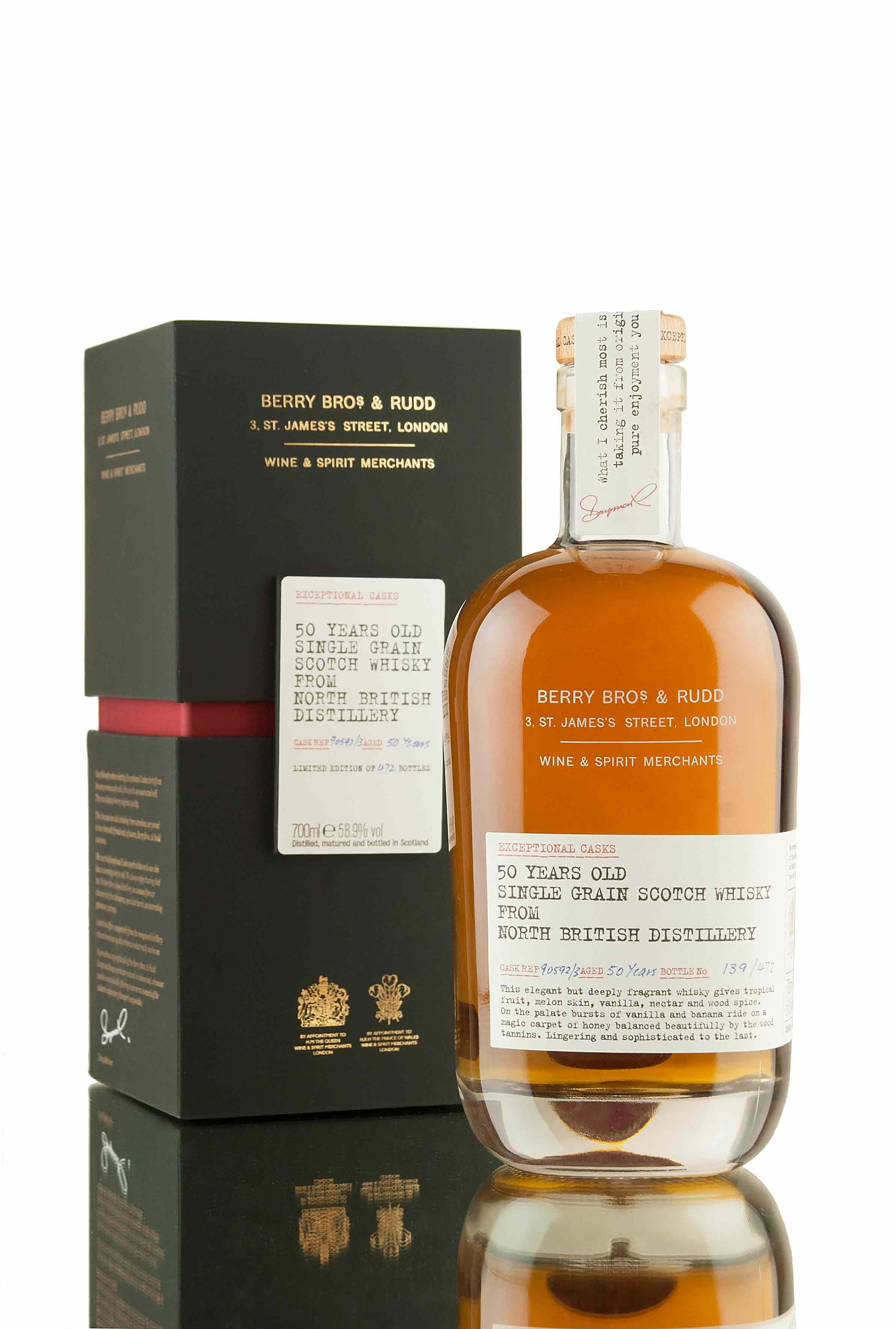 North British 50 Year Old - 1962 | Exceptional Casks
