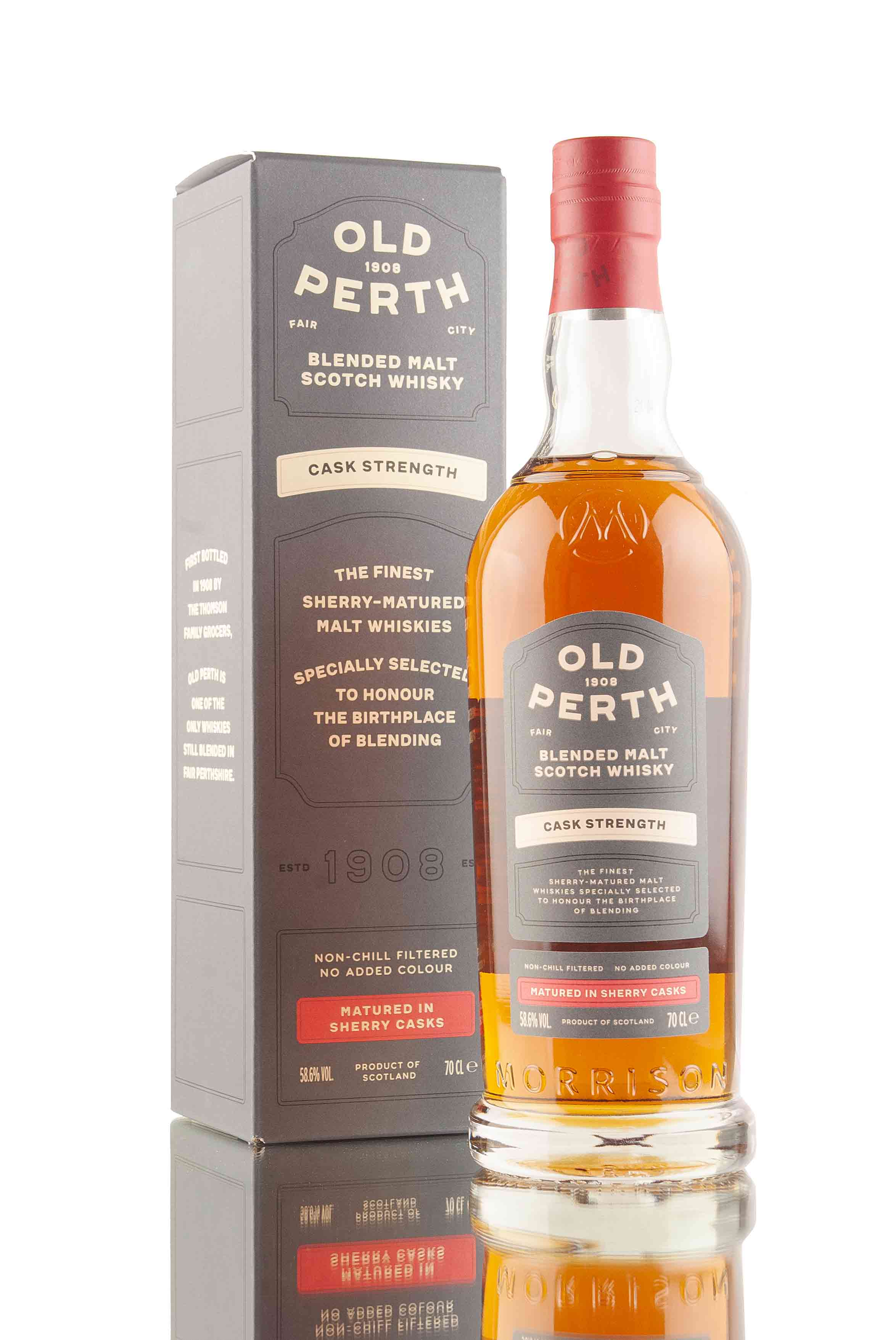 Old Perth Cask Strength Blended Malt Scotch Whisky | Abbey Whisky