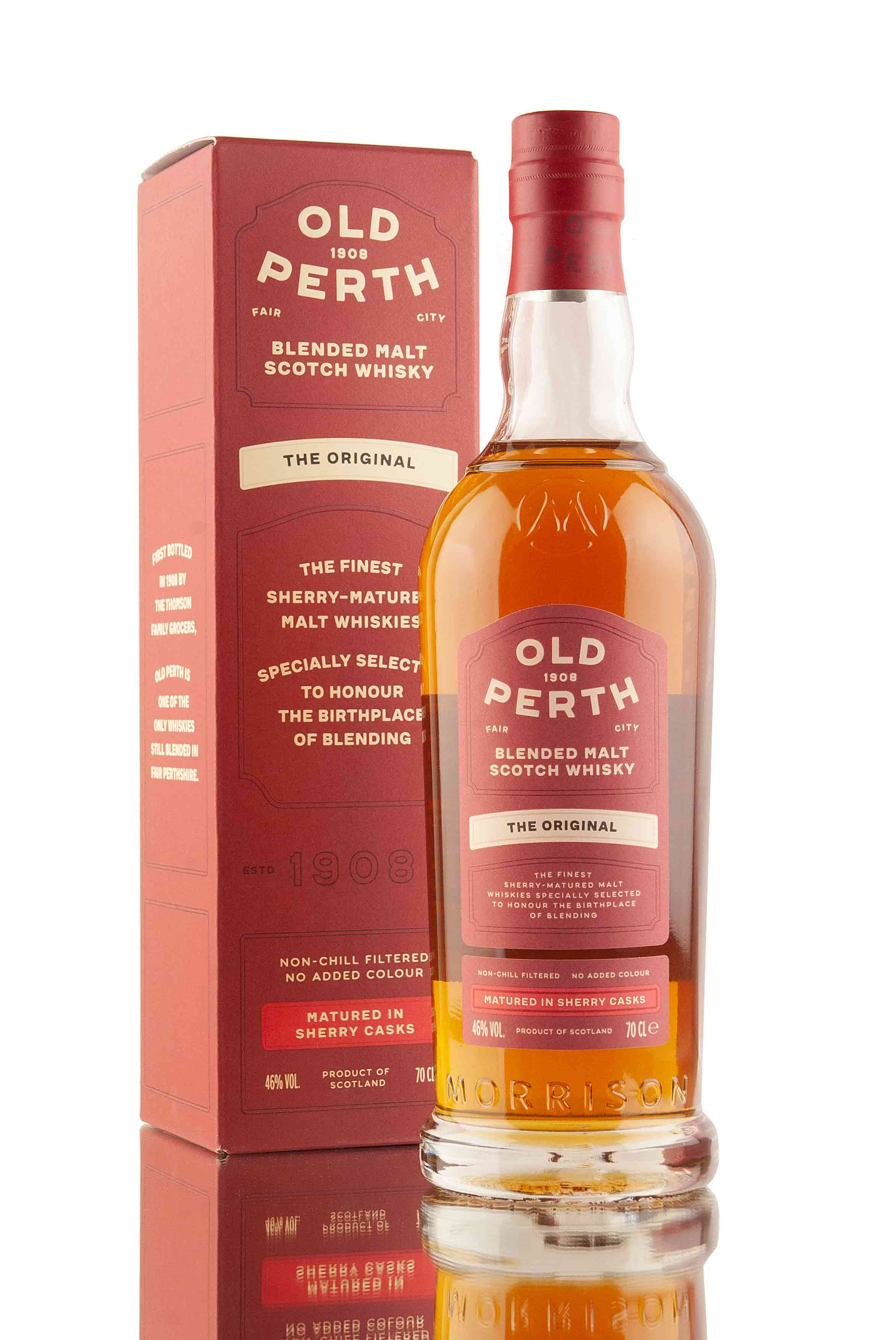 Old Perth The Original Blended Malt Scotch Whisky | Abbey Whisky