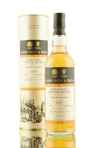 Orkney 11 Year Old - 2009 | Small Batch | Berry Bros & Rudd | Abbey Whisky