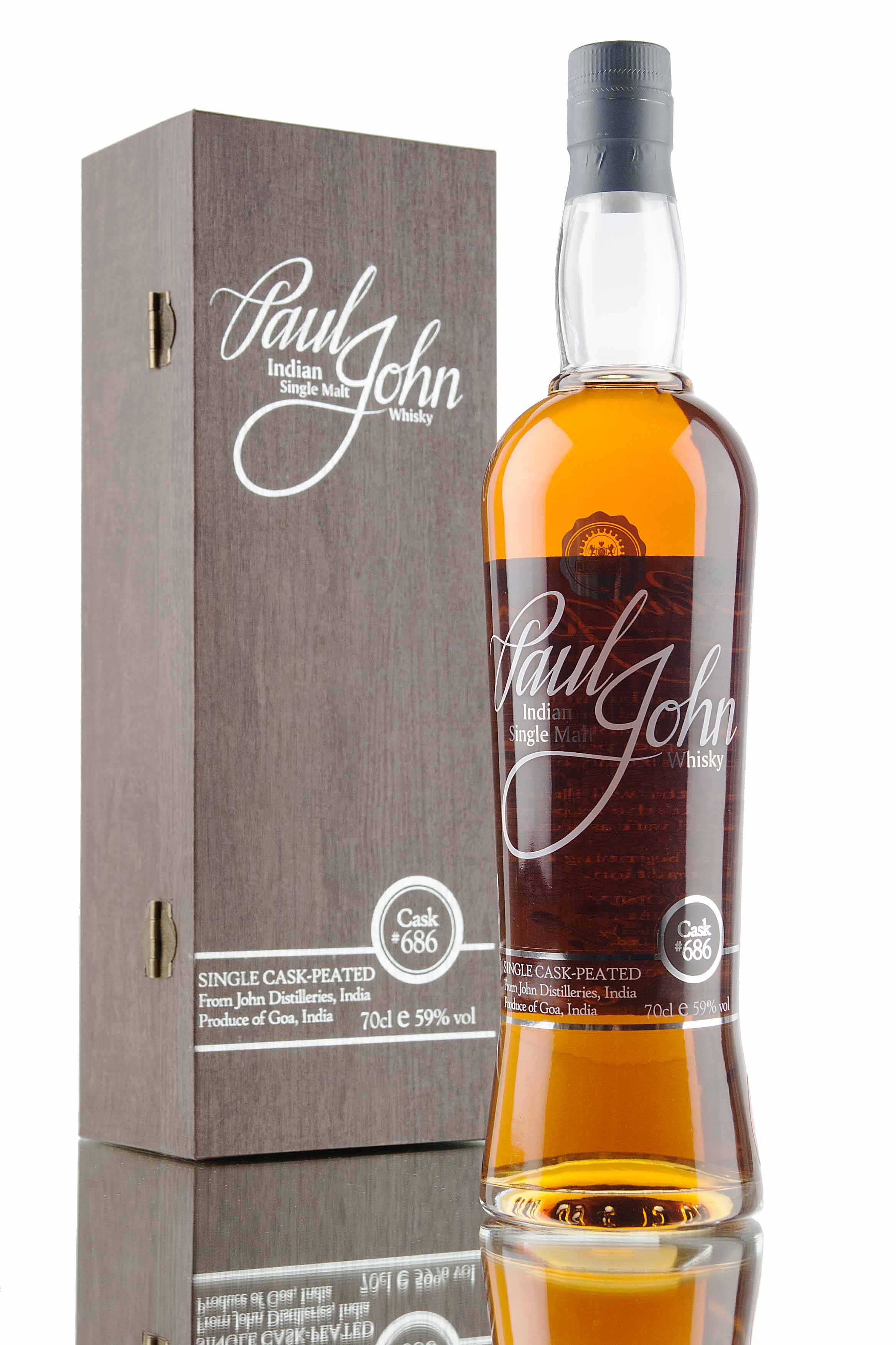 Paul John Single Cask #686 (Peated)