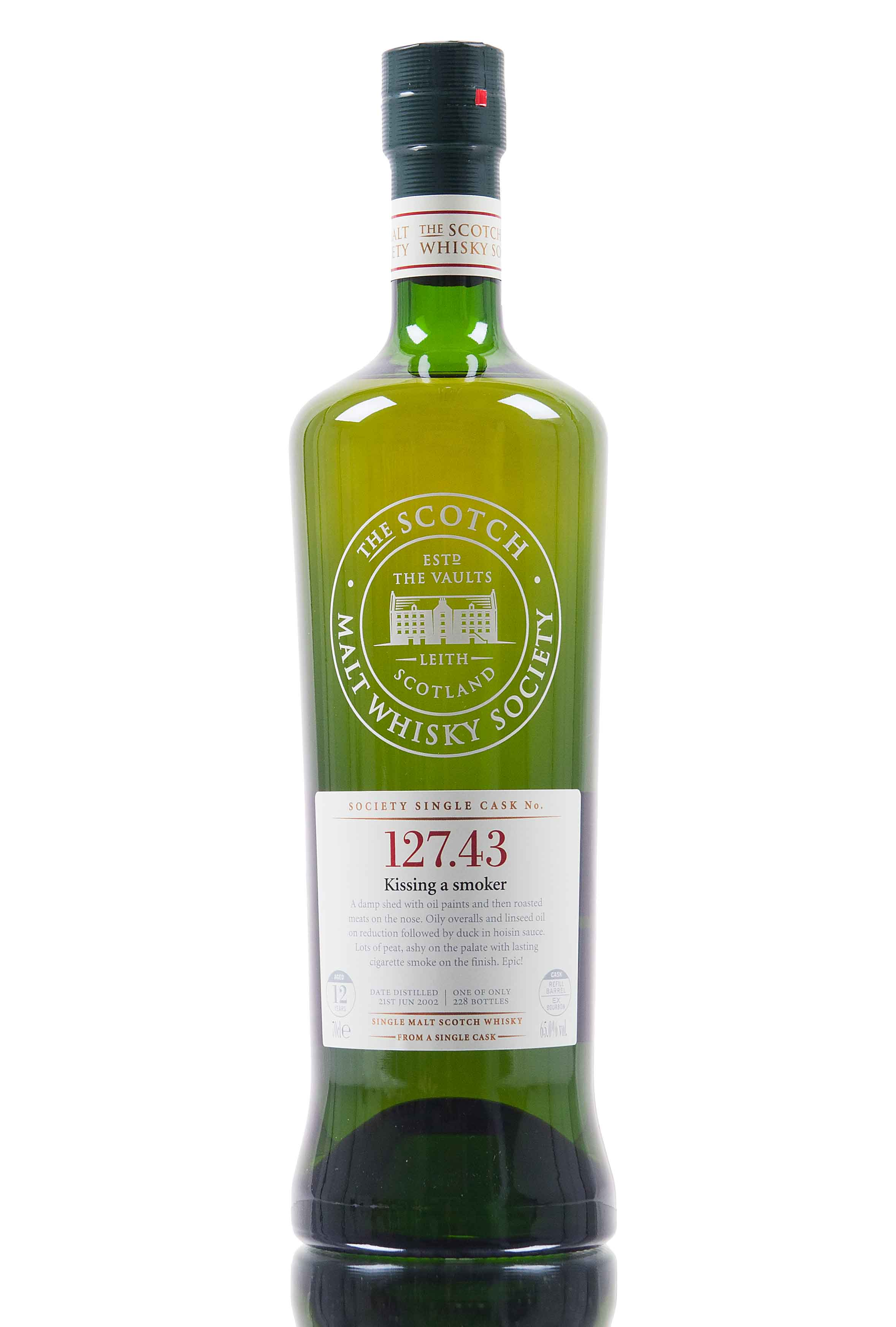 Port Charlotte 2002 / 12 Year Old / SMWS 127.43