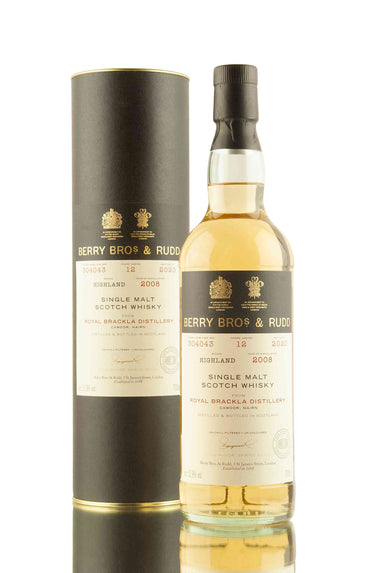 Royal Brackla 12 Year Old - 2008 | Cask 304043 | Berry Bros & Rudd | Abbey Whisky