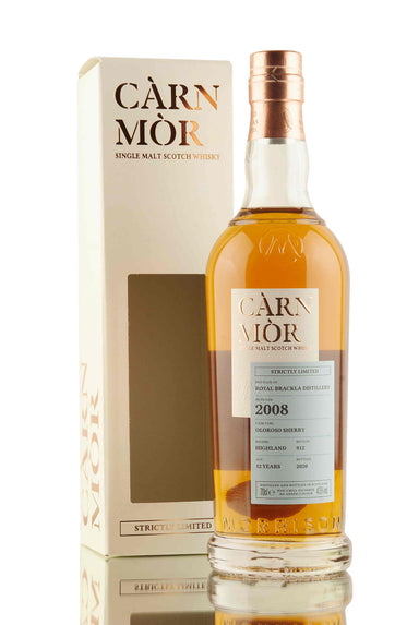 Royal Brackla 12 Year Old - 2008 | Càrn Mòr Strictly Limited | Abbey Whisky