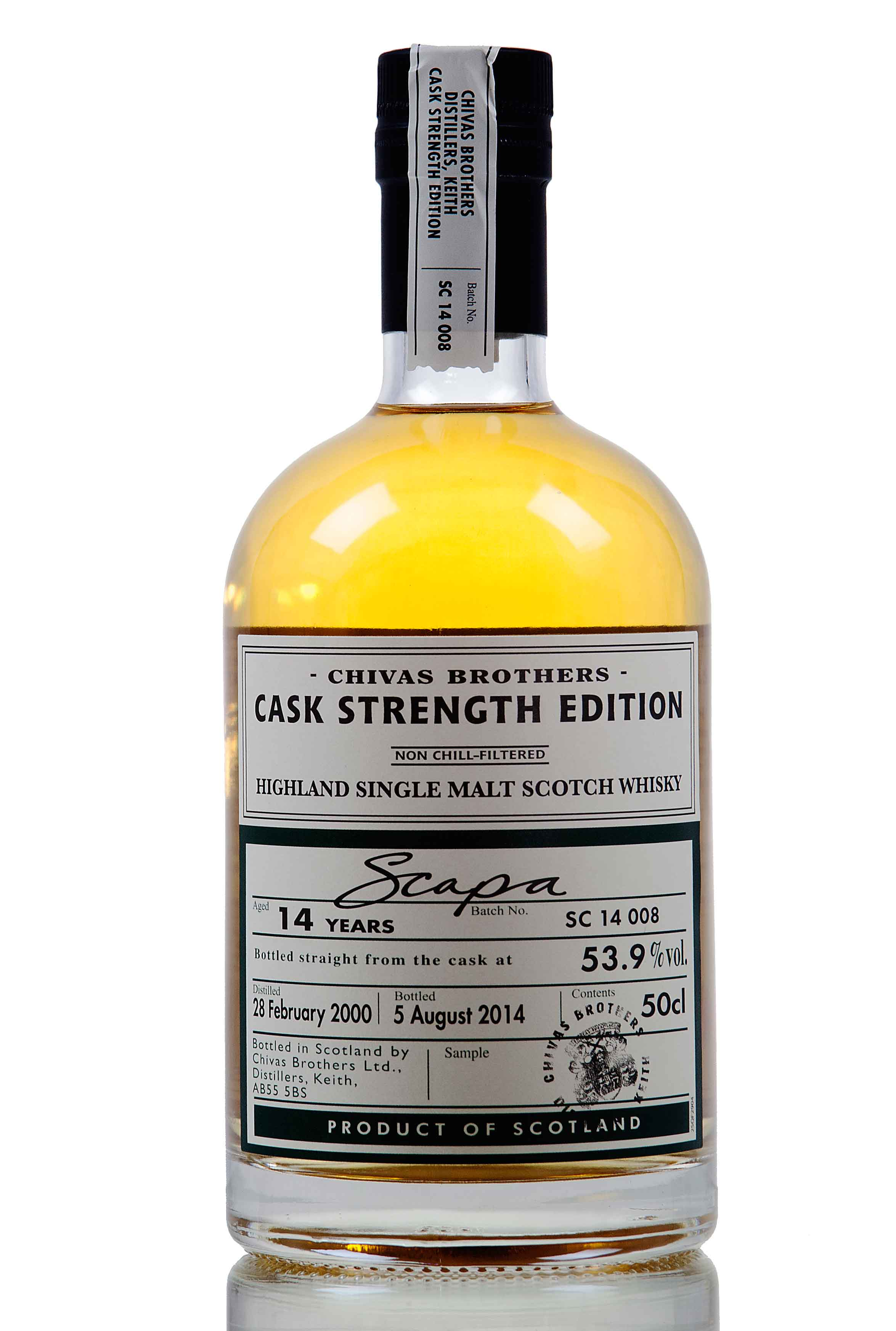 Scapa 14 Year Old / 2000 / Cask Strength Edition