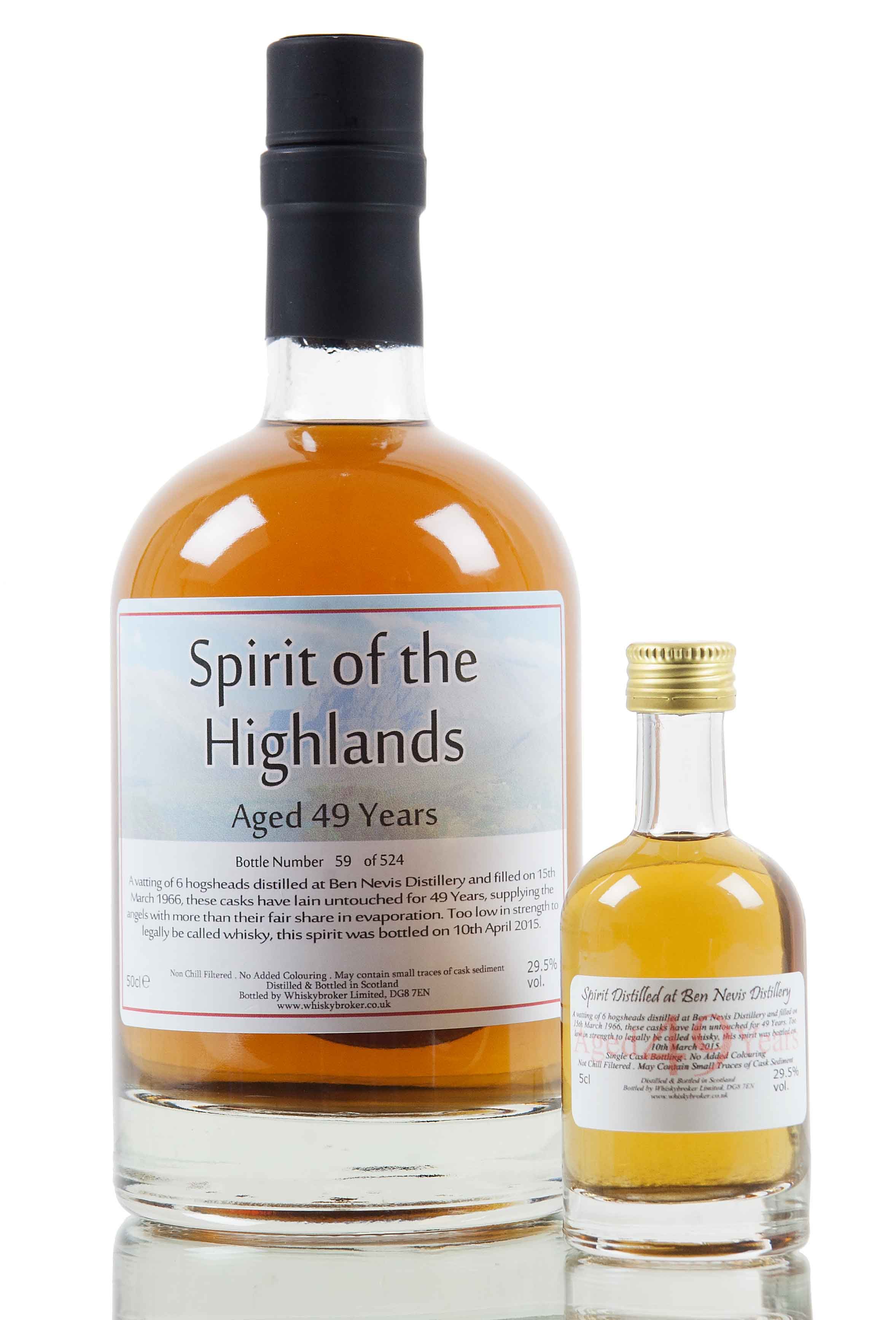 Ben Nevis 49 Year Old - 1966 / Spirit of the Highlands
