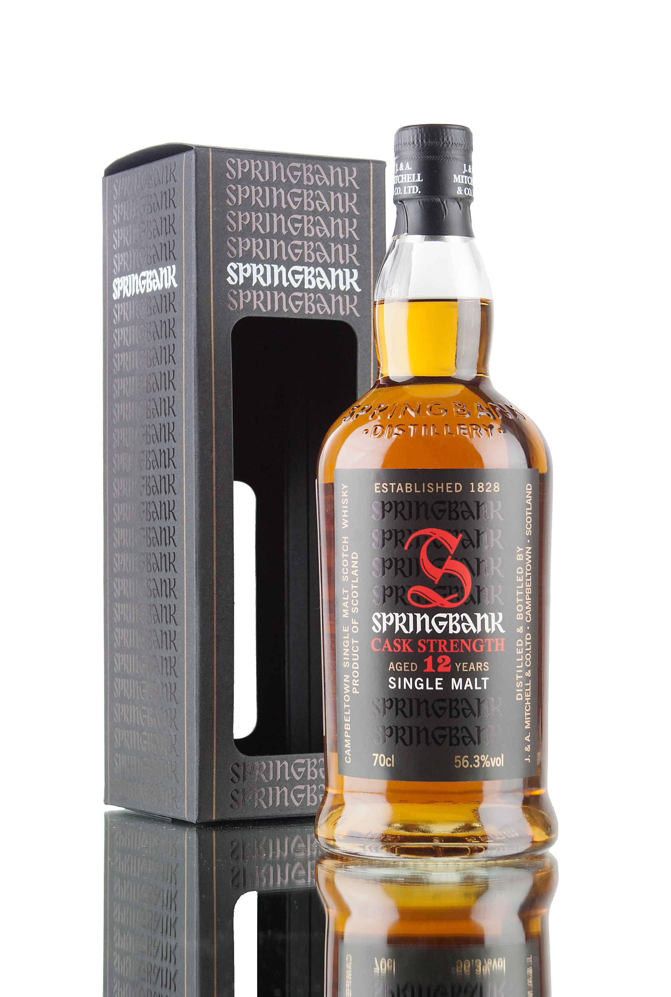 Springbank 12 Year Old Cask Strength - 56.3%