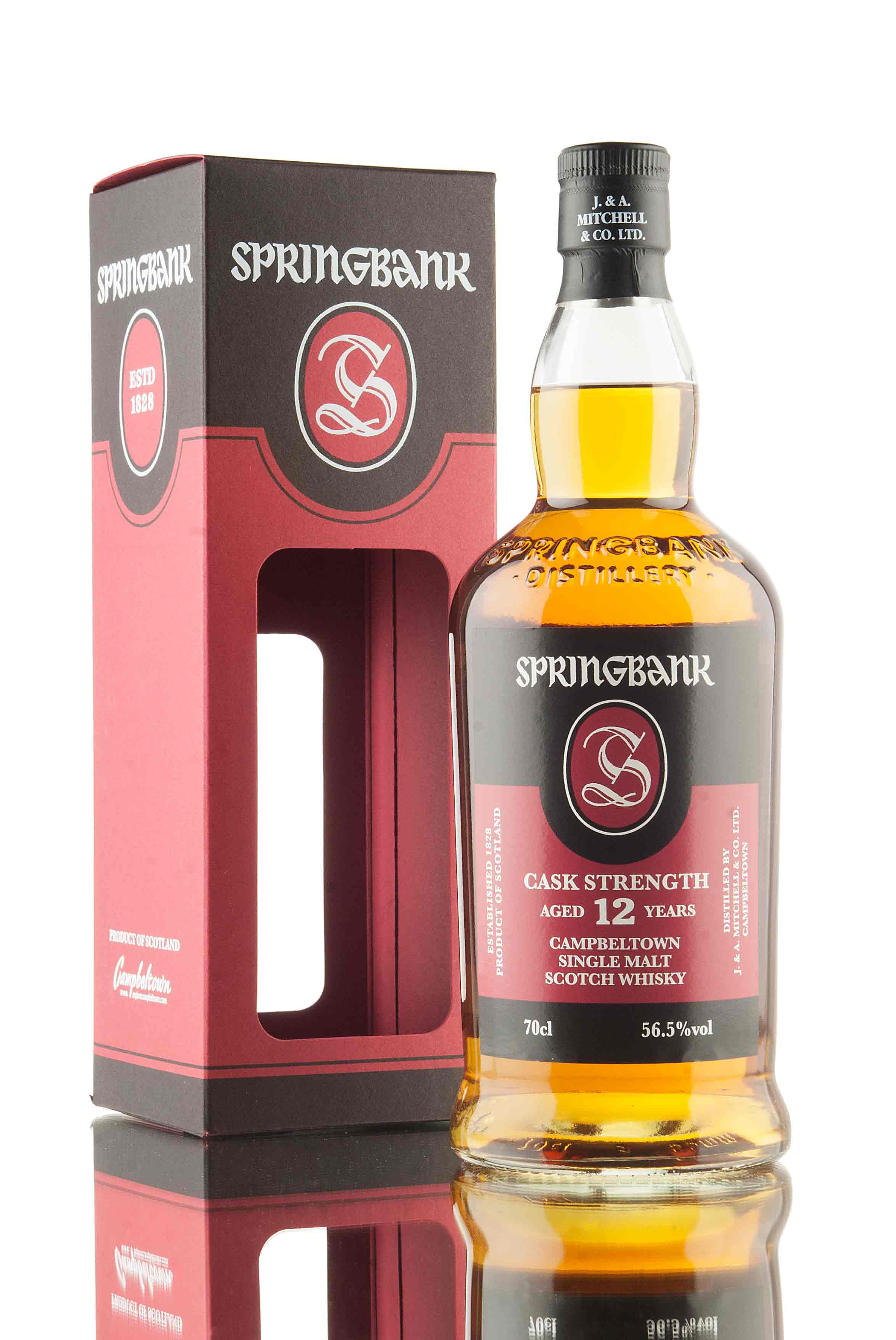 Springbank 12 Year Old Cask Strength - 56.5%