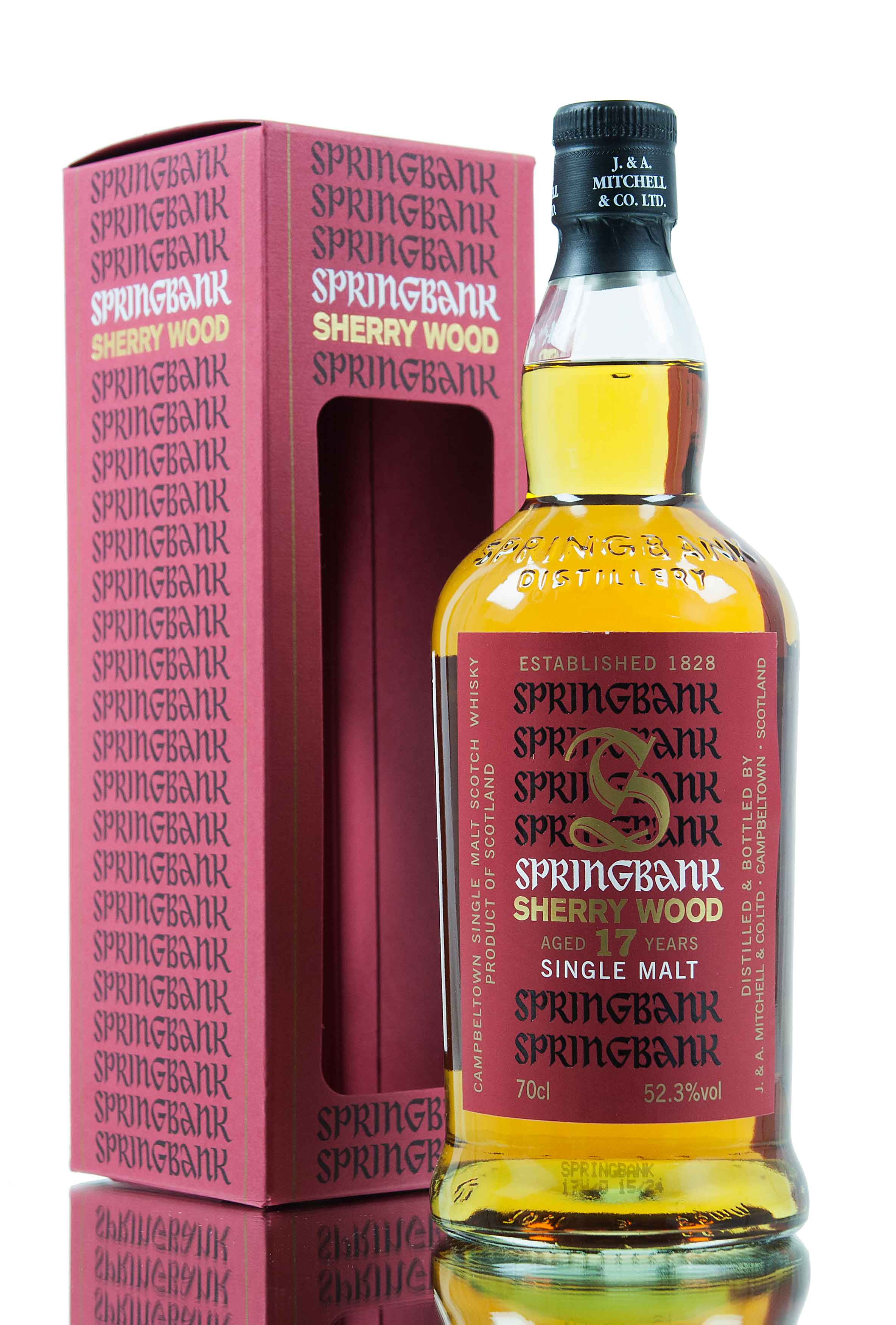 Springbank 17 Year Old - Sherry Wood