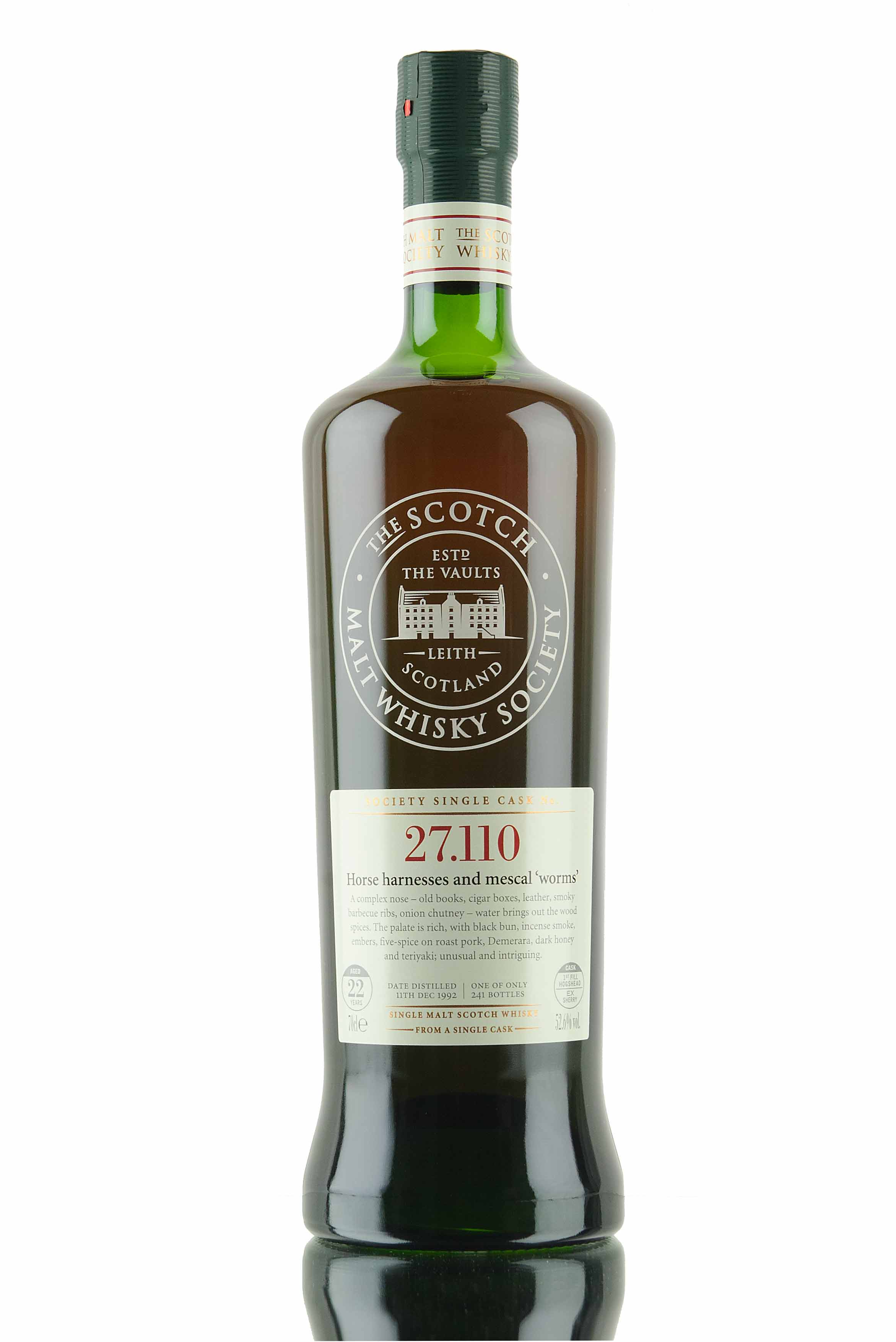 Springbank 22 Year Old - 1992 / SMWS 27.110