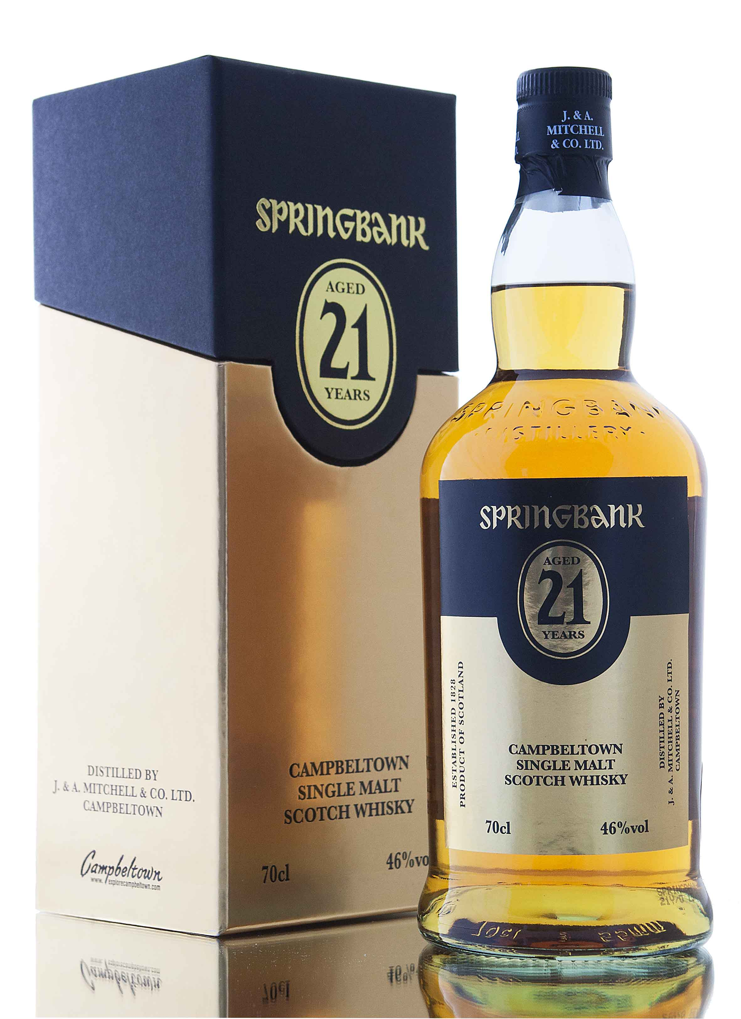 Springbank 21 Year Old / 2015 Release