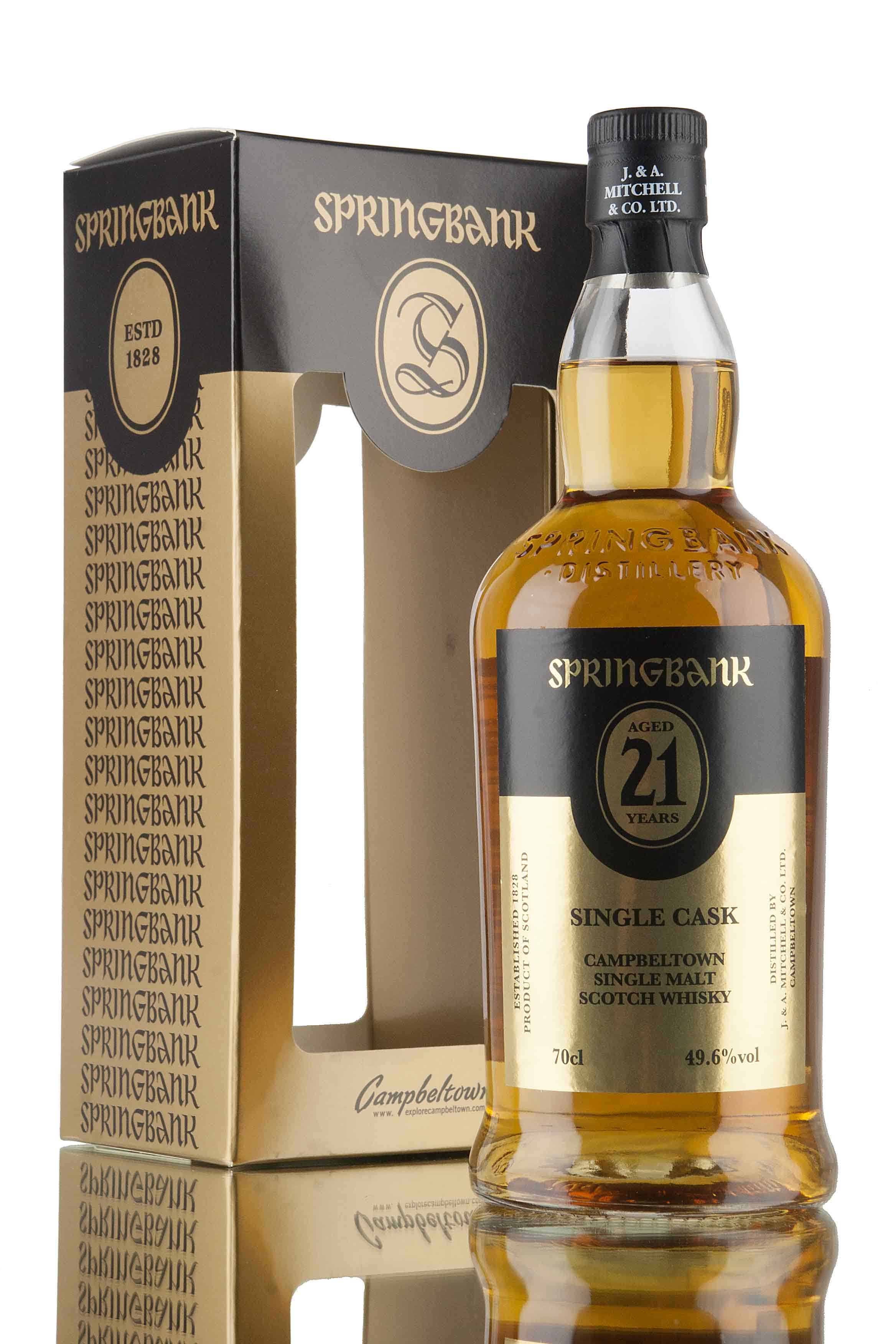 Springbank 21 Year Old Single Cask / 2016 Release