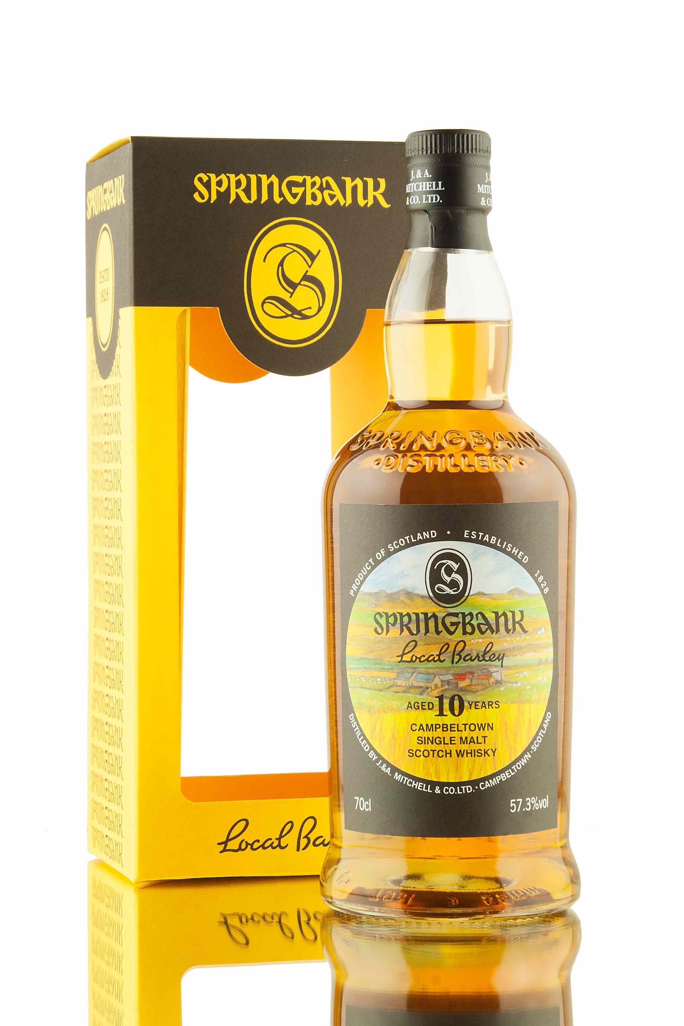 Springbank Local Barley 10 Year Old | Third Release