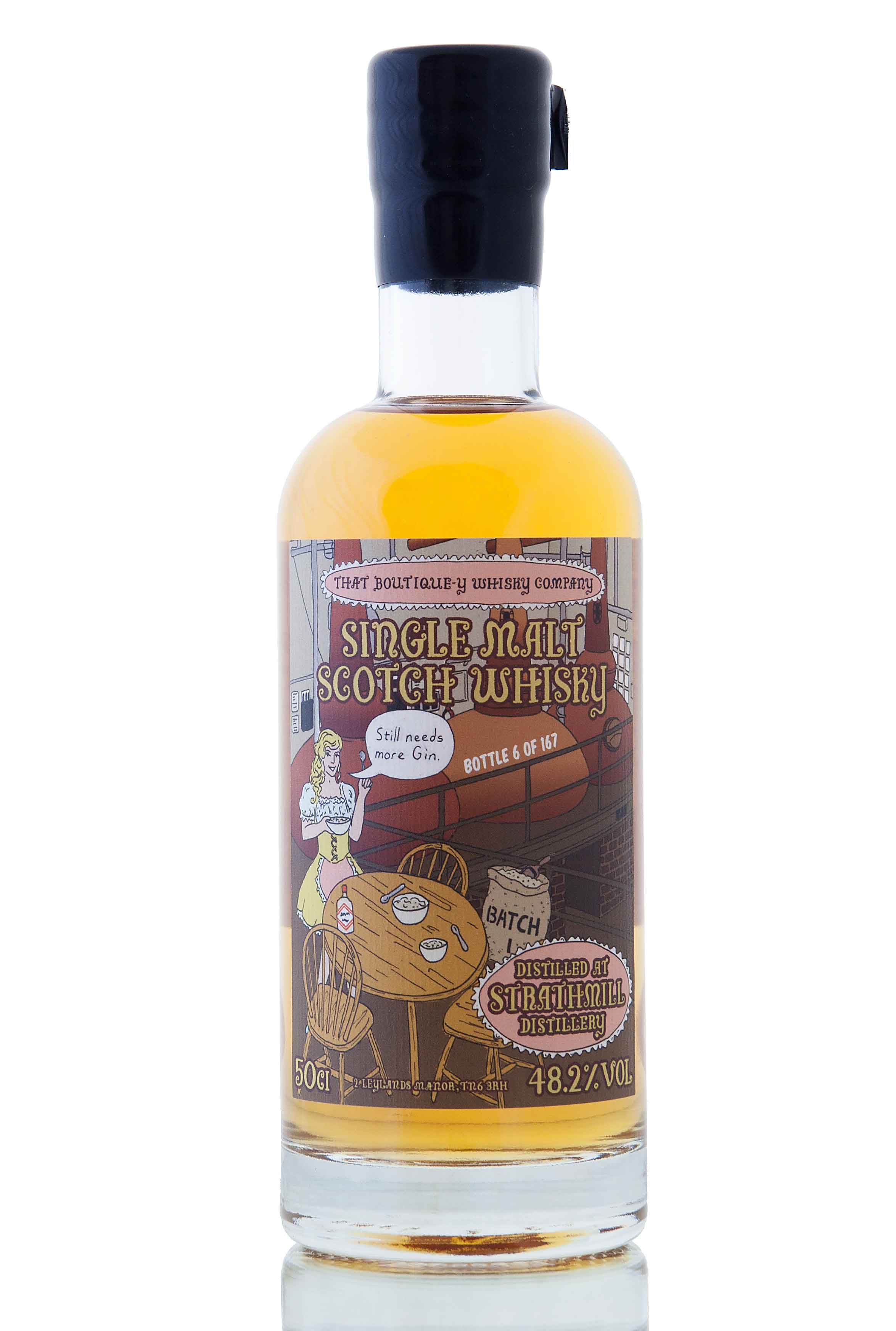 Strathmill Batch 1 (That Boutique-y Whisky Company)