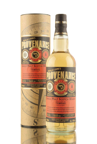 Tamdhu 8 Year Old - 2012 | Cask DL14665 |Provenance | Douglas Laing | Abbey Whisky