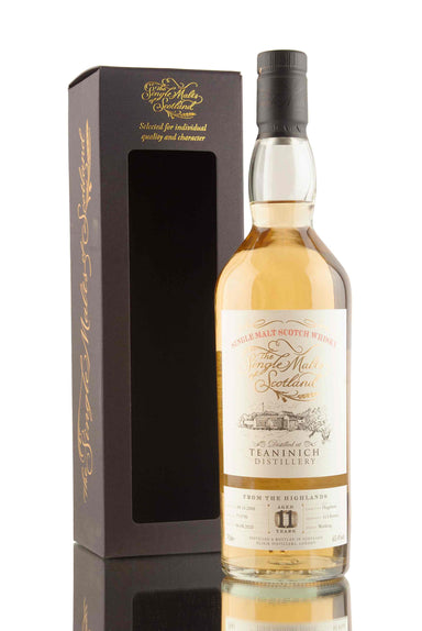 Teaninich 11 Year Old - 2008 | The Single Malts Of Scotland | Abbey Whisky