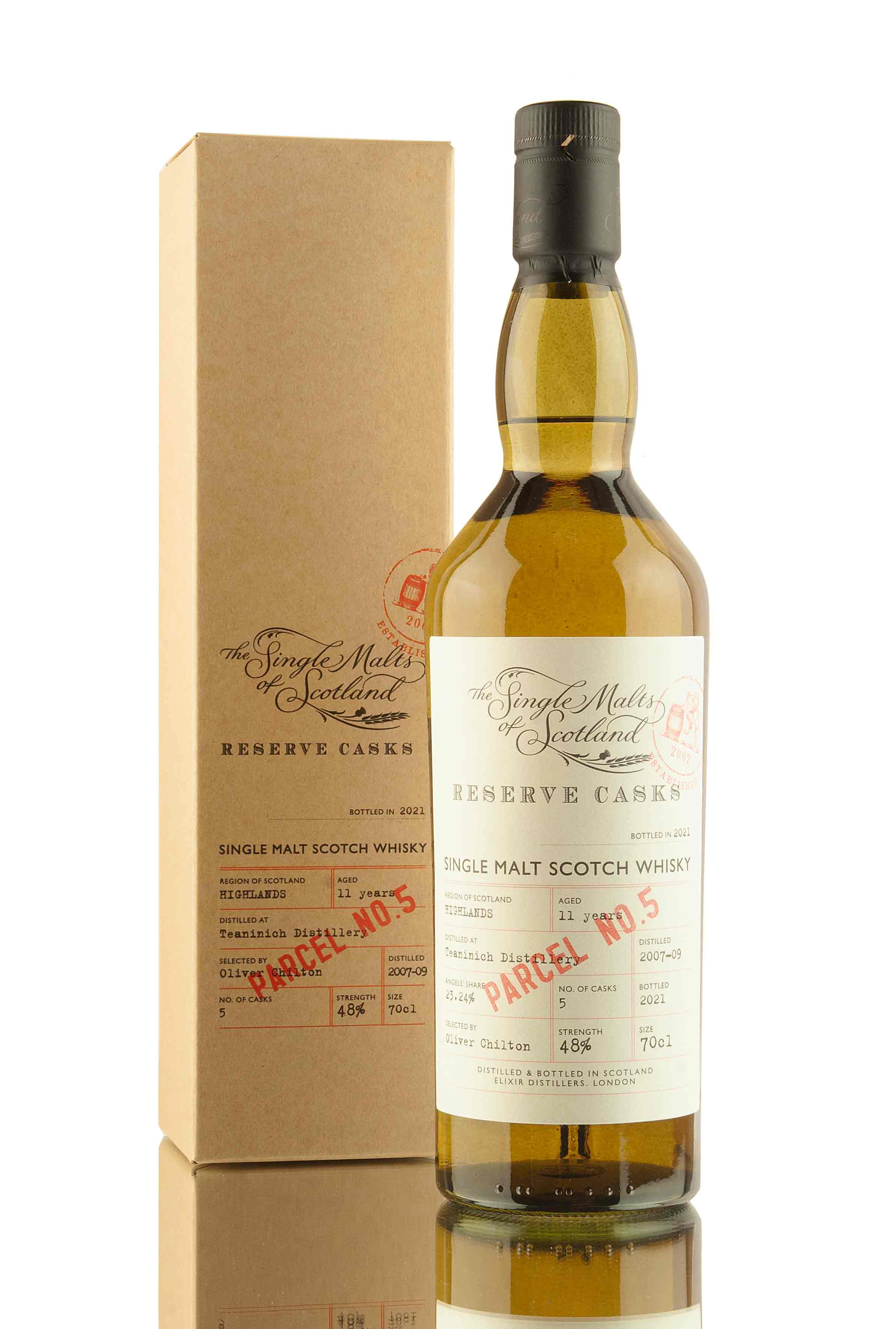Teaninich 11 Year Old | Reserve Casks Parcel No.5 | Abbey Whisky
