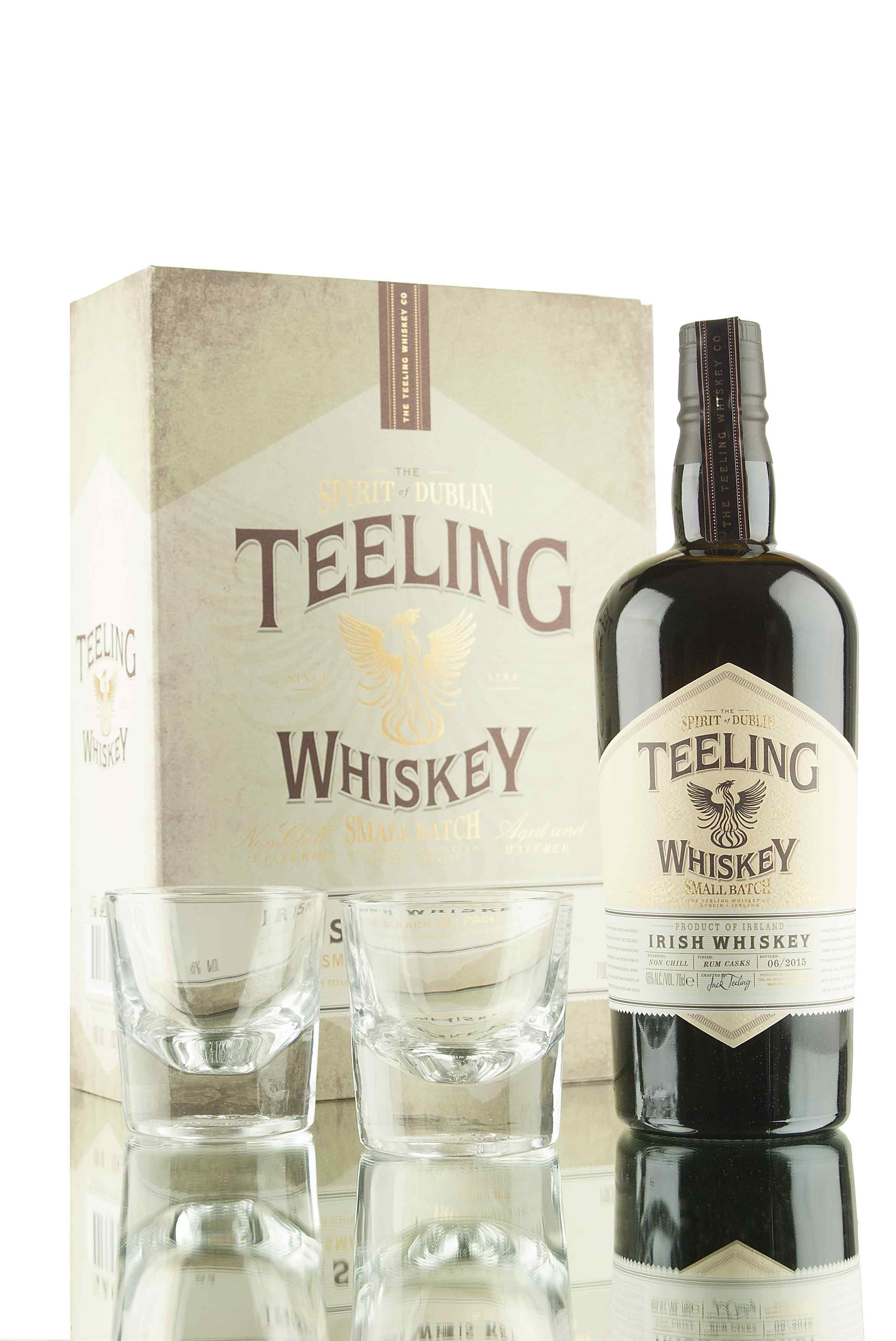 Teeling Small Batch Whiskey Glass Gift Pack