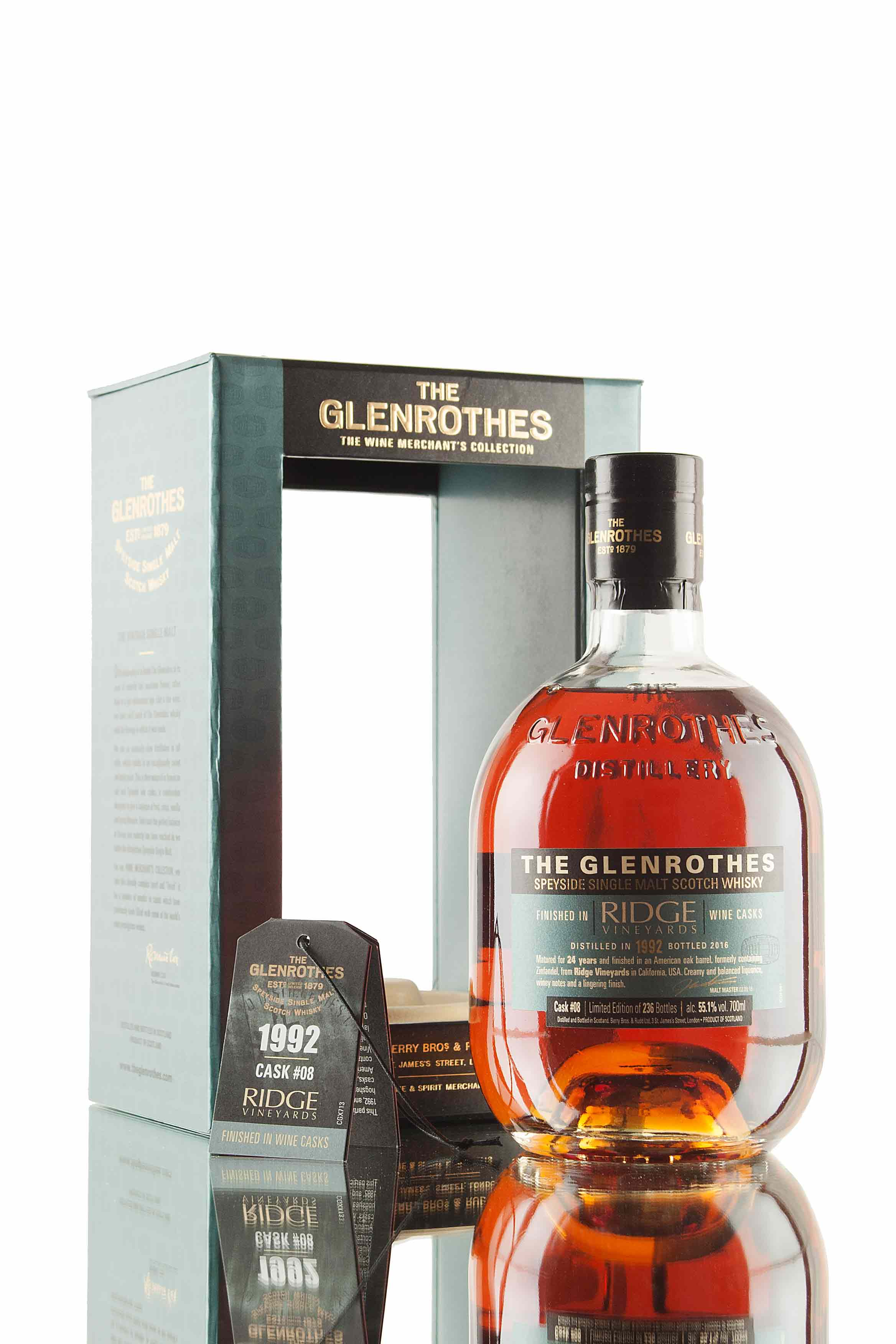 The Glenrothes Ridge Vineyards Cask #08 | Wine Merchant's Collection