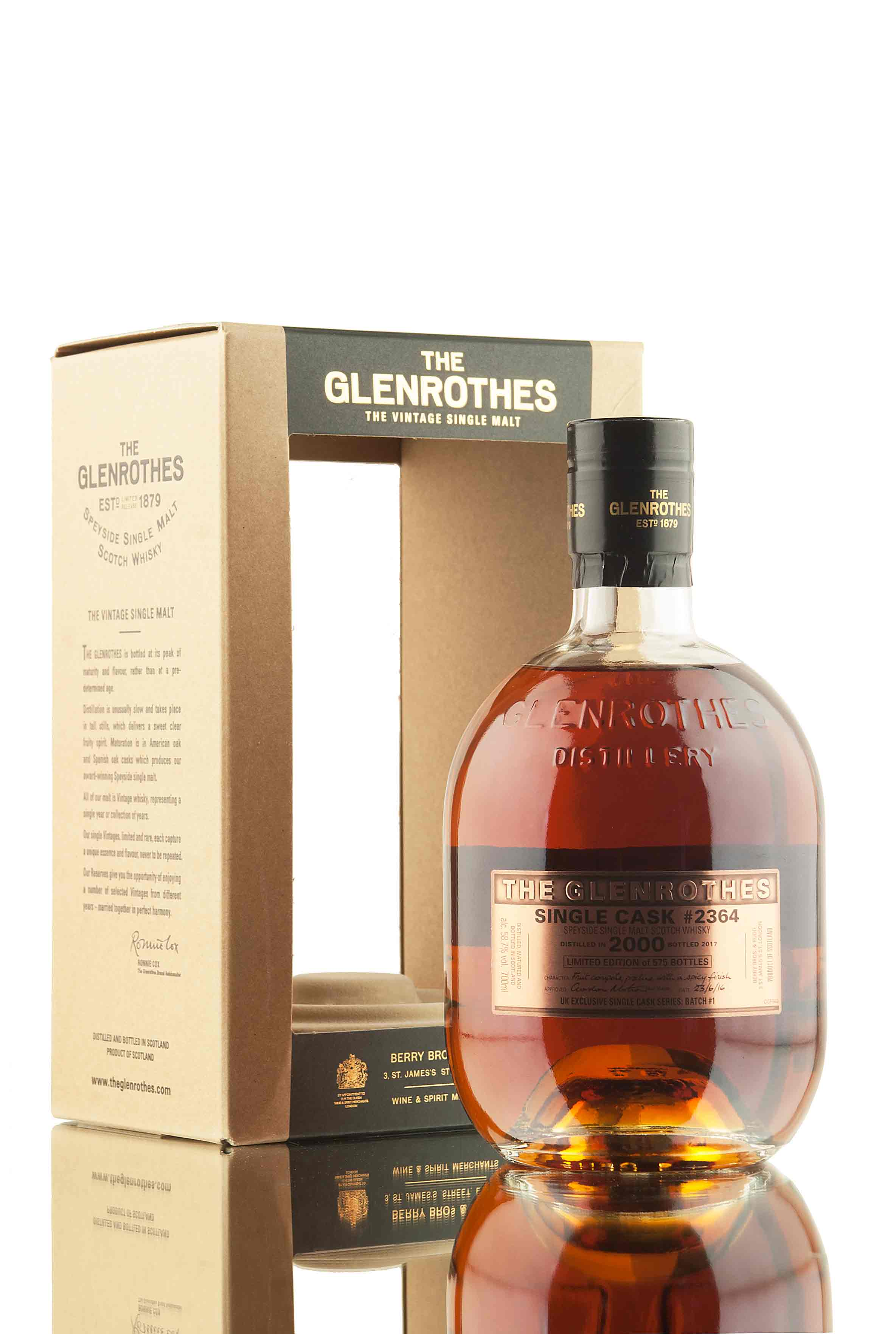 Glenrothes 2000 Single Cask 2364 | UK Exclusive Batch 1