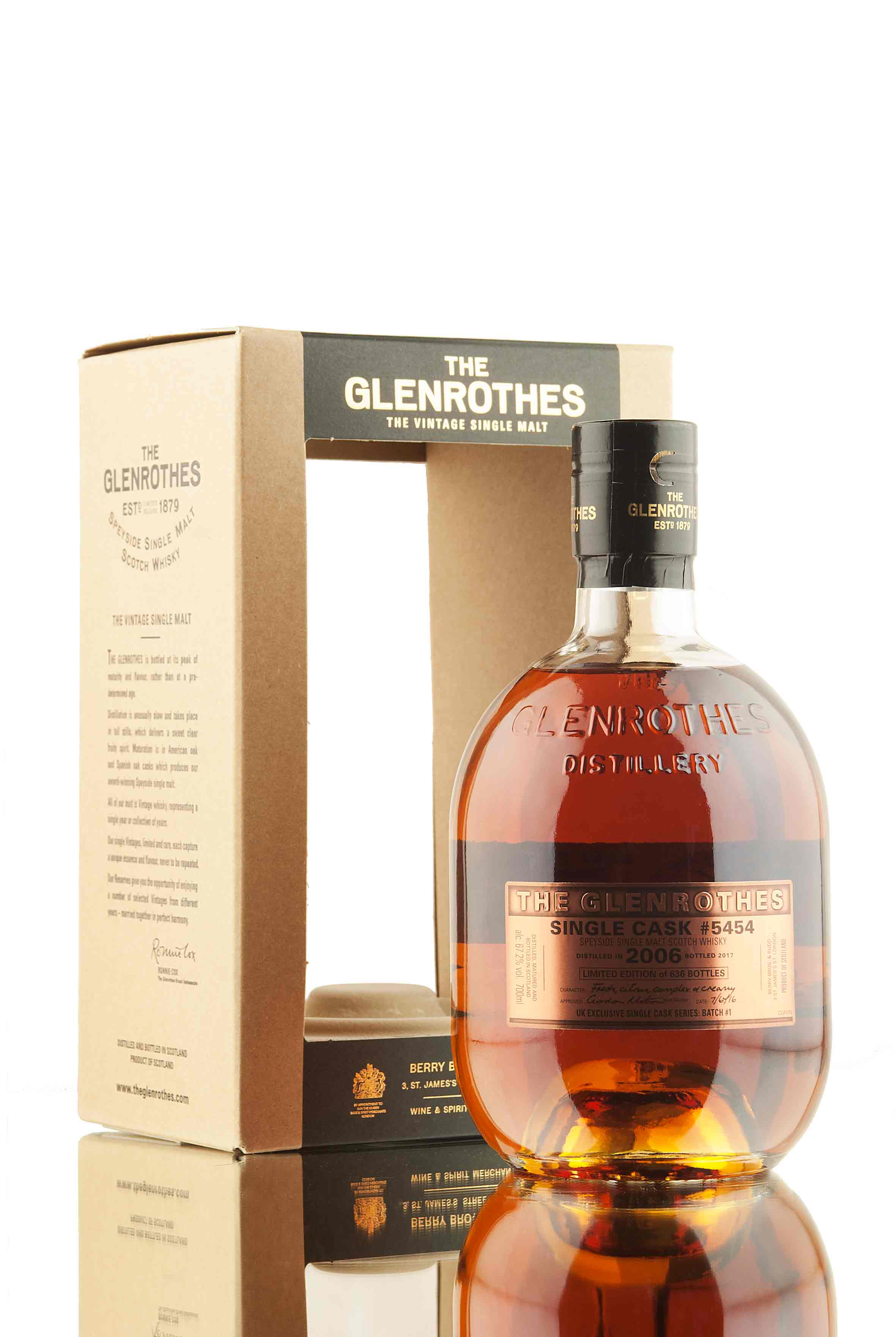 Glenrothes 2006 - Single Cask 5454 | UK Exclusive Batch 1