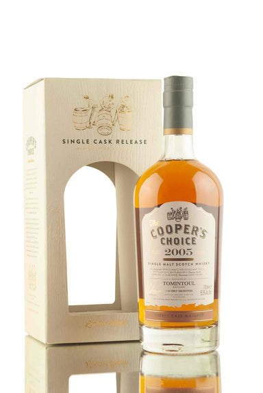 Tomintoul 13 Year Old - 2005 | Cask 10 | The Cooper's Choice | Abbey Whisky