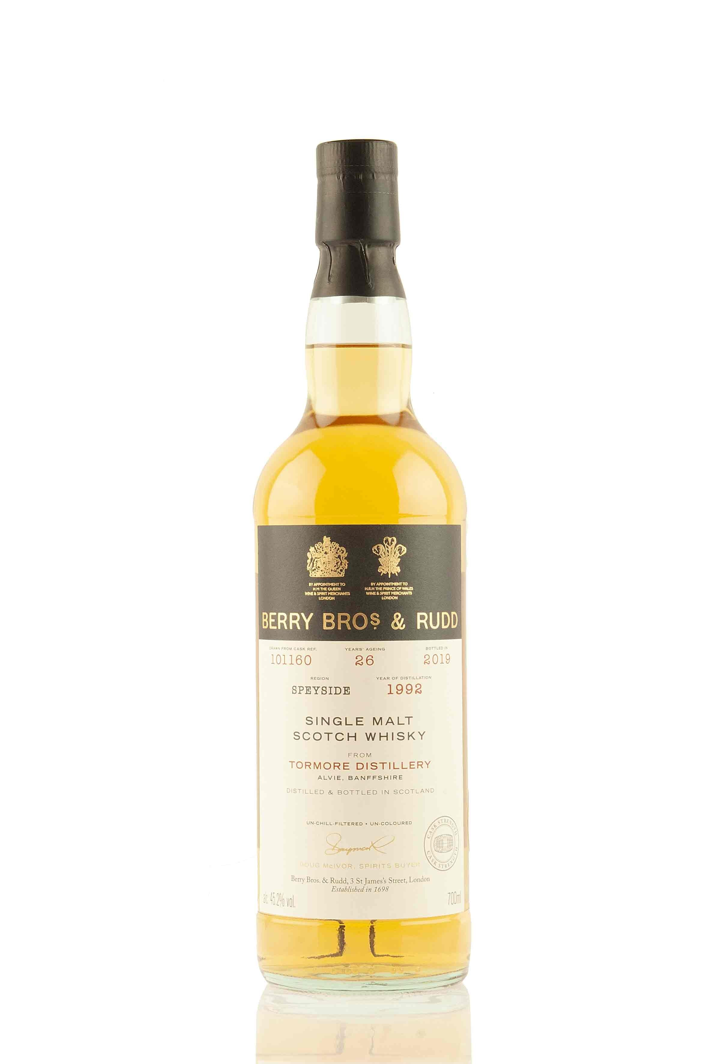 Tormore 26 Year Old - 1992 | Cask 101160 | Berry Bros & Rudd