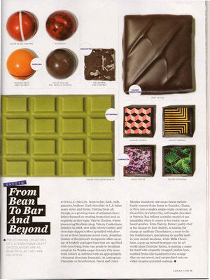 LA Magazine 'From Bean To Bar and Beyond'