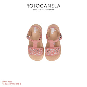 Huaraches Infantil Rosa BF4634RS-1