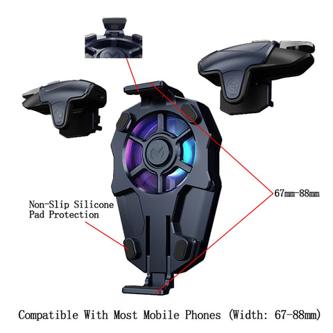 Capacitance Mobile Gaming Controller