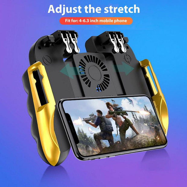 Six Finger PUBG Game Controller