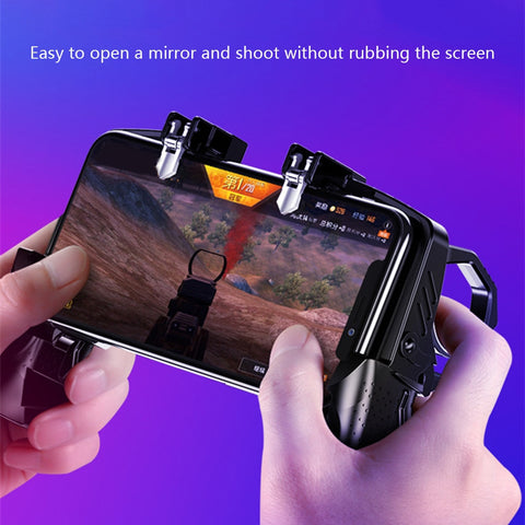 Mobile Phone Game Shooter Trigger
