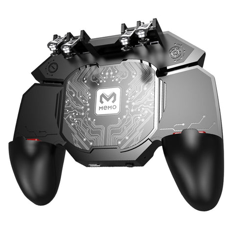 Six Finger PUBG Mobile Gaming Trigger Gamepad