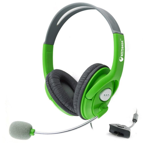 Gaming Headset With Adjustable Microphone