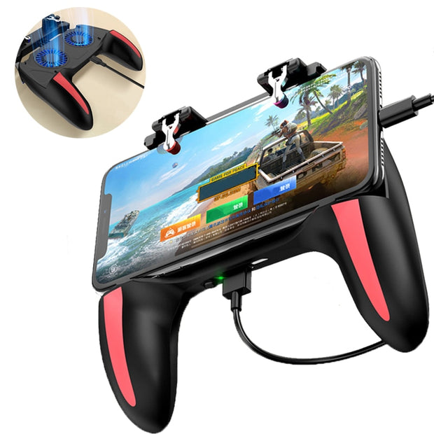 H10 Mobile Controller with Double Fan